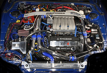 twin turbo 3000gt vr4 engine 2006