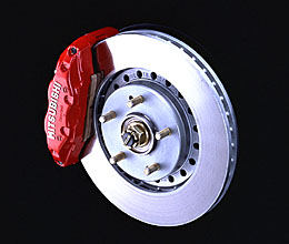 3000GT VR4 Brake Caliper and hub